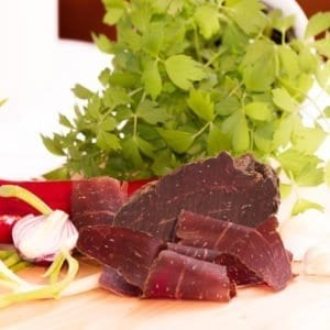 Buendnerfleisch-Rind-Trockenfleisch