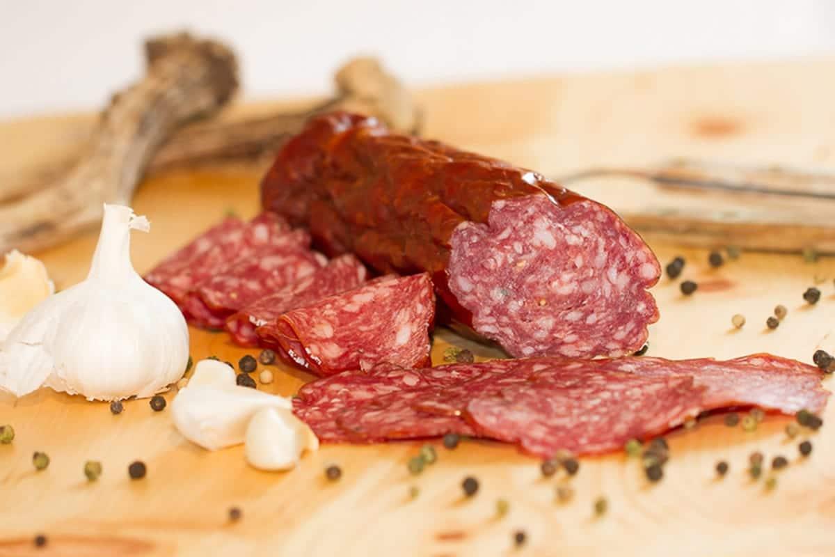 Nockfleisch-Gurktaler-Rohwurst