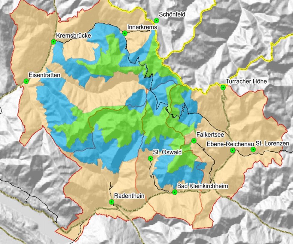 UNESCO-Modellregion-Nockberge-Grafik