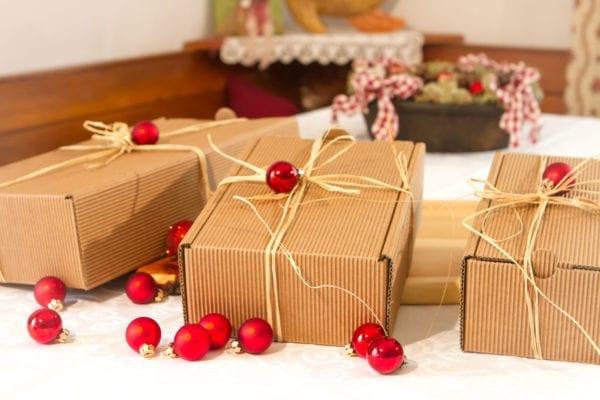 Alle Geschenkspakete für Weihnachten.
